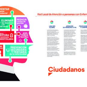 Ciudadanos Melilla reivindica la aplicación de la Red Local de Atención a Personas con Enfermedades Mentales